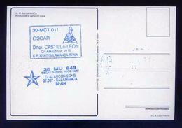 Tarjeta Postal Con Tampon *Radioaficionado* *30-MCT-011. Salamanca* Ver Dorso. - Radio Amateur