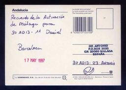 Tarjeta Postal Con Tampon *Radioaficionado* *30AD13-23. Malaga...* Ver Dorso. - Radio Amateur