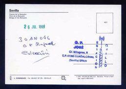 Tarjeta Postal Con Tampon *Radioaficionado* *30AN046. Guadalcanal, Sevilla...* Ver Dorso. - Radio Amateur