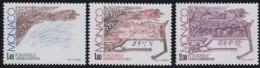 Monaco    .     Yvert   .     1324/1326         .    **     .   Neuf SANS Charniere   .    /   .   MNH - Unused Stamps