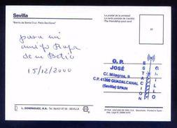 Tarjeta Postal Con Tampon *Radioaficionado* *30AN046. Guadalcanal, Sevilla...* Ver Dorso - Radio Amateur