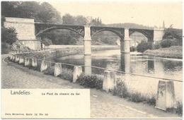 Landelies NA6: Le Pont Du Chemin De Fer - Montigny-le-Tilleul