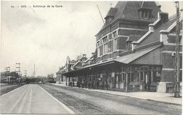 Ath NA20: Intérieur De La Gare 1912 - Ath