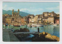 CORSE - Bastia - Un Coin Du Vieux Port Et Vue Sur L'eglise St Jean Baptiste - Bastia