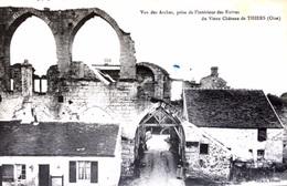 #& Thiers Sur Thèves -  Vue Des Arches Prise De L'intérieur Des Ruines Du Vieux Chateau - Frankreich