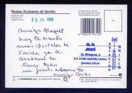 Tarjeta Postal Con Tampon *Radioaficionado* *Estacion Grillo. Guadalcanal, Sevilla...* Ver Dorso. - Radio Amateur