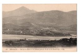 64 - HENDAYE . Vue Sur La Rhune Et La Bidassoa Prise De Notre-Dame De La Guadeloupe - Réf. N°3463 - - Hendaye