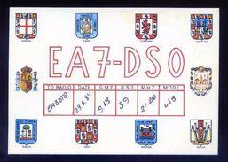 Tarjeta Postal *Radioaficionado* *EA-7-DSO. Benalmadena-Costa, Malaga...* Ver Dorso. - Radio Amateur