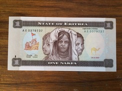 BANQUE OF ERITREA-ONE NAKFA - Eritrea