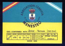 Tarjeta Postal *Radioaficionado* *Asociacion Cebeista. El Puerto De Sta. María...* Ver Dorso. - Radio Amateur