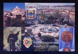 Tarjeta *Radioaficionado* *QSL Especial Monforte Del Cid, Alicante...* Ver Dorso. - Radio Amateur
