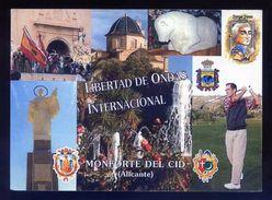 Tarjeta *Radioaficionado* *Monforte Del Cid, Alicante...* Ver Dorso. - Radio Amateur