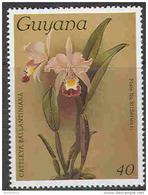 0632 Flora Orchids 11st Issue 1986 Guyana 1v Set MNH ** 3ME - Orchids