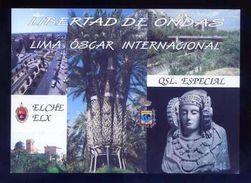 Tarjeta *Radioaficionado* *QSL Especial Elx-Elche, Alicante...* Ver Dorso. - Radio Amateur