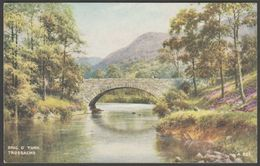 Brig O' Turk, Trossachs, Perthshire, C.1940s - Valentine's Postcard - Perthshire