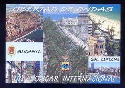 Tarjeta *Radioaficionado* *QSL Especial Alicante...* Ver Dorso. - Radio Amateur
