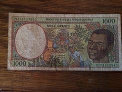 BANQUE DES ETATS DE L'AFRIQUE CENTRALE-1000 - Ethiopie