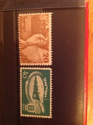 Israel 1950 2nd Anniversary Of Independence Mint SG 29-30 Yv 29-30 Sc 33-4 - Neufs (sans Tabs)