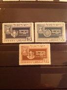 Israel 1949 Jewish New Year Mint SG 18-20 Mi 19-21 - Neufs (sans Tabs)