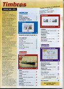 TIMBRES MAGAZINE ANNEE COMPLETE 2005 Soit 11 Numéros - Français (àpd. 1941)