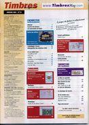 TIMBRES MAGAZINE ANNEE COMPLETE 2007 Soit 11 Numéros - Français (àpd. 1941)