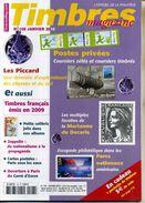 TIMBRES MAGAZINE ANNEE COMPLETE 2010 Soit 11 Numéros - Français (àpd. 1941)