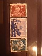 Israel 1951 50th Anniversary Of Jewish National Fund Mint SG 58-60 Yv 46-8 Sc 48-50 - Neufs (sans Tabs)