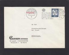 "STEMPEL:""WERKZEUGMASCHINEN AUSTELLUNG HANNOVER 1964"". - Covers & Documents"
