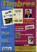 TIMBRES MAGAZINE ANNEE COMPLETE 2013 Soit 11 Numéros - Français (àpd. 1941)