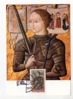 CARTE MAXIMUM - 2012 -  Jeanne D'Arc - 2010-...