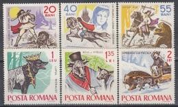 ROMANIA 2419-2424,unused - Fairy Tales, Popular Stories & Legends