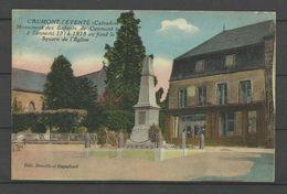 CAUMONT L'EVENTE - Monument Aux Morts - Square De L'église - Frankreich