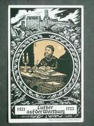 Dt. Reich Privatganzsache PP 38 C2 - Luther Auf Der Wartburg - Mit Sonderstempel (42) - Germany