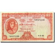 Ireland - Republic, 10 Shillings, 1968, 1968-06-06, KM:63a, TTB - Ireland