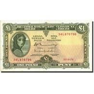 Ireland - Republic, 1 Pound, 1962-1976, 1962-1976, KM:64a, TTB+ - Irlande
