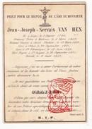 Im. Pieuse Curé Jean J. Van Hex ° Liège Luik 1796 † 1853 Othée Elch Awans St-Pholien Ste-Véronique St-Jacques - Imágenes Religiosas