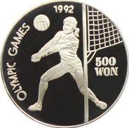 Corée Du Nord, 500 Won 1991 - Argent Pur / Pure Silver Proof - Corée Du Sud