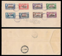 FALKLAND IS.SOUTH ORKNEYS/ DEPENDENCY-COVER 1945 TO ARGENTINA- - Falkland