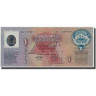 Kuwait, 1 Dinar, 1993, 1993-02-26, KM:CS1, NEUF - Koweït