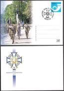 Estonian Reserve Officers' Association, 20th Anniversary 2017 Postmark On Special Postcard # 98 - Estland
