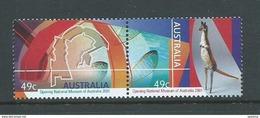 Australia 2001 Museum Se Tenant Pair MNH - 2000-09 Elizabeth II