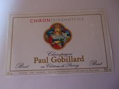 CHAMPAGNE PAUL GOBILLARD  CUVEE CHIRON DIAGNOSTICS  1500  ML   MAGNUM   ****  RARE     A   SAISIR ***** - Champagne