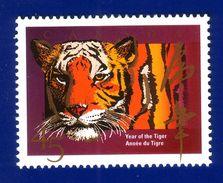 Canada 1998 Year Of The Tiger Stamp (#1708) MNH ! - 1952-.... Règne D'Elizabeth II