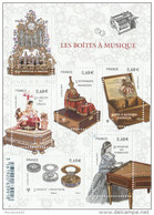 FRANCE 2015 BLOC NEUF LES BOITES A MUSIQUE YT - F4993 - F 4993  -                   TDA207 - Blocs & Feuillets