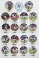 FEVE SERIE EQUIPE DE France DE FOOTBALL, 19 Pîèces - Sports