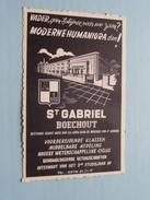 St. GABRIEL Boechout ( Unitas ) Anno 19?? ( Zie Foto Details ) !! - Boechout