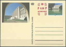 UNO GENF 1993 MI-NR. P 12 Postkarte / Ganzsache Ungelaufen - Genf - Büro Der Vereinten Nationen
