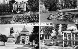 CPSM 94 CHOISY LE ROI AVENUE MULTI VUES - Choisy Le Roi