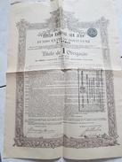 Titulo Especial Sem Juro Do Fundo Externo Portuguez 3°série - Titulo De Obrigaçao - Cachet 1924 - Banque & Assurance