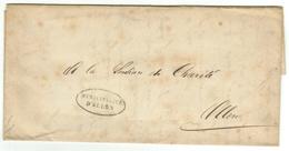 Vieux Papiers // Document Historique Adressé à La Commune D'Ollon - Documents Historiques